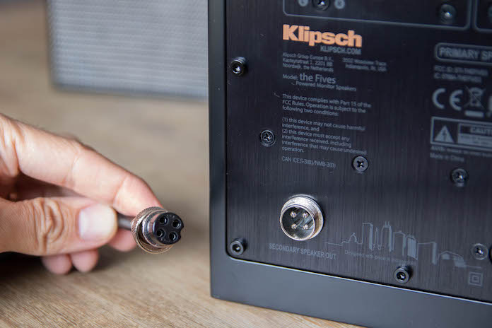 test klipsch the fives avis connection