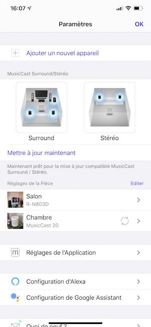 test musiccast 20 yamaha enceinte multiroom appli