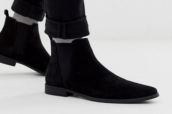 chaussure nouveaute asos 2020 automne hiver montante classe daim noir