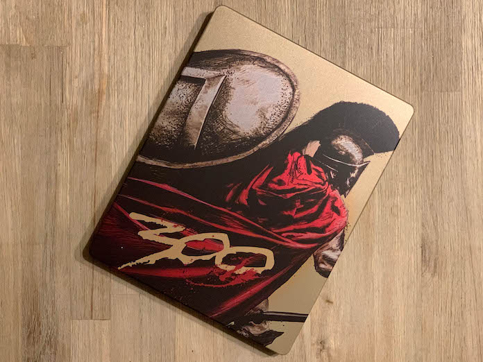 300 test bluray 4k steelbook spartiate avis