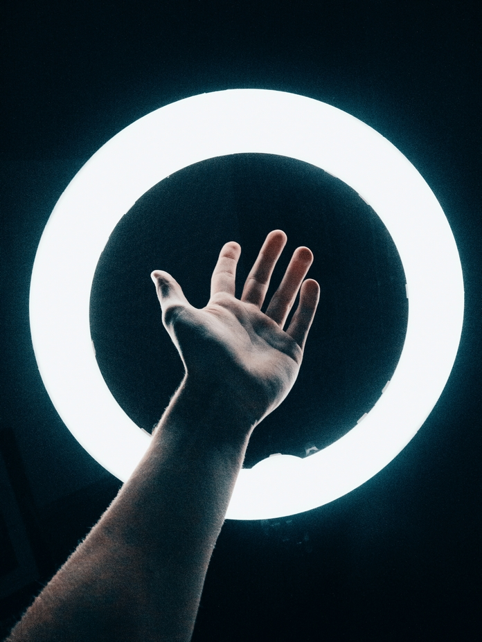 accessoire photo smartphone telephone light ring flash lumiere