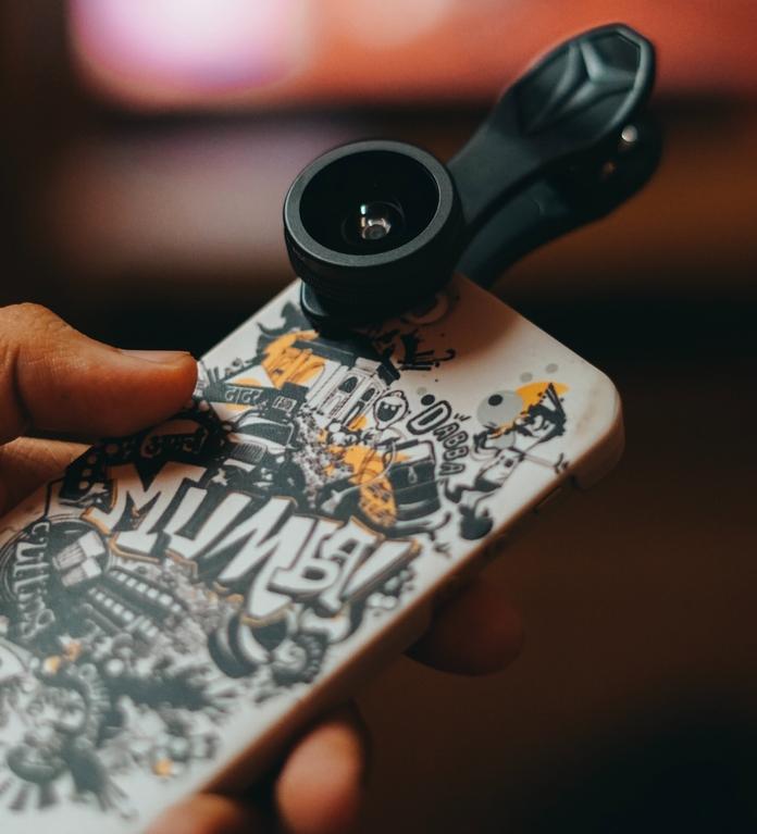 accessoire photo telephone smartphone objectif lentille