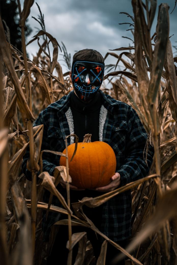 idee halloween costume maquillage masque decoration