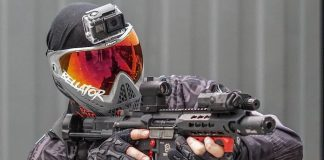 replique mitrailleuse CM16 LMG