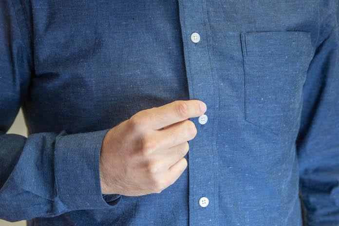 test chemise hast avis oxford bleu