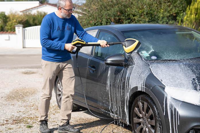 test karcher k5 avis lavage voiture
