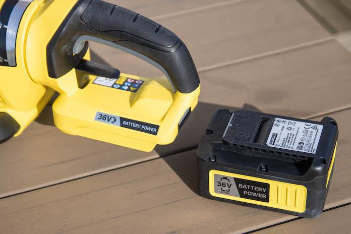 test taille haie karcher avis HGE 36-60 batterie