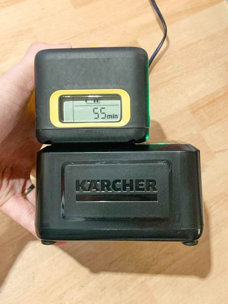 test taille haie karcher avis HGE 36-60 niveau charge