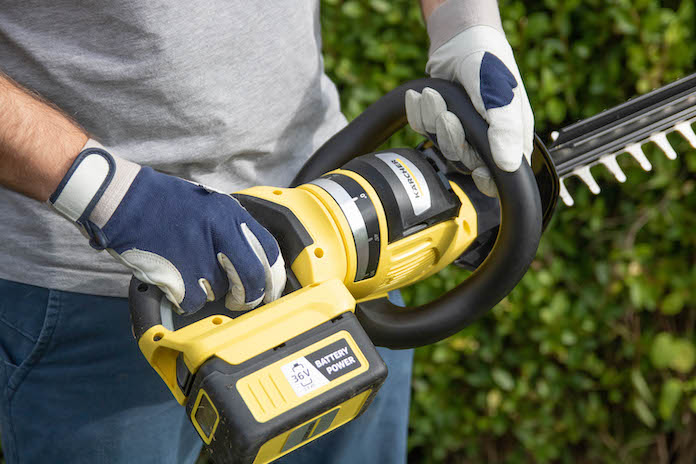 test taille haie karcher avis HGE 36-60 rotation lame