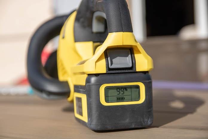 test taille haie karcher avis HGE 36-60 temps batterie
