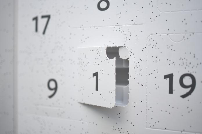 calendrier avent original the cafe