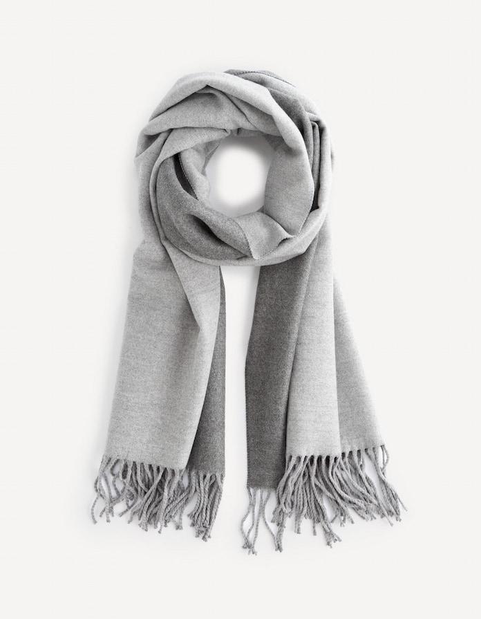 celio echarpe hiver chaud homme accessoire