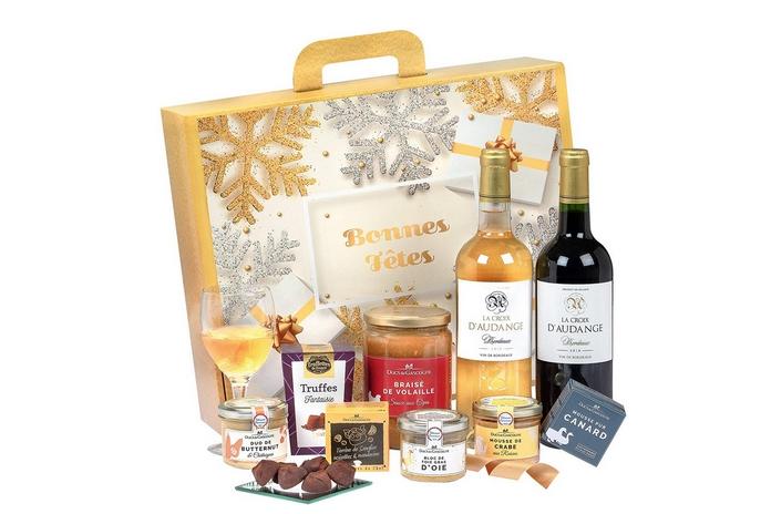 coffret cadeau gastronomique vin foie gras