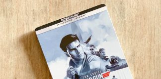 test 4K top gun blu ray bluray steelbook