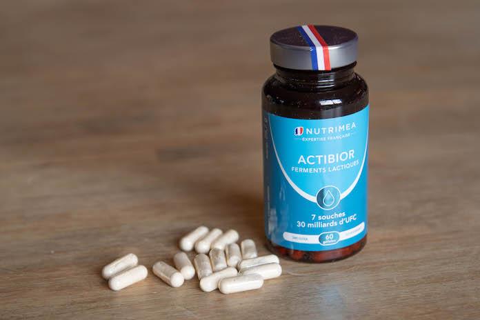 test avis nutrimea complement actibior ferment lactique