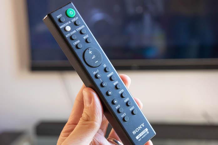 test barre de son sony ht g700 avis telecommande