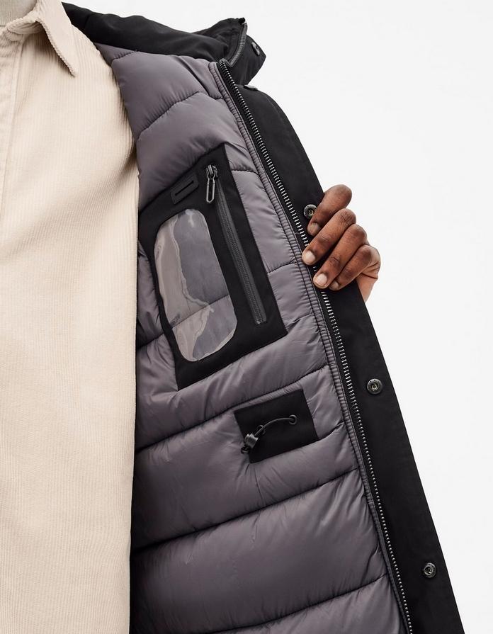 veste homme parka manteau impermeable celio