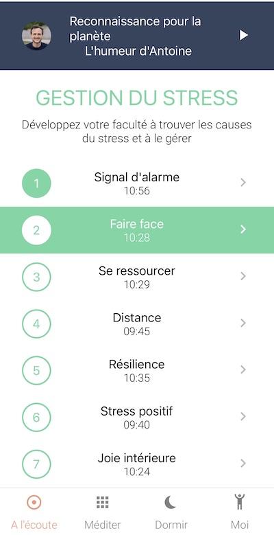 avis namatata appli meditation test stress