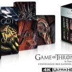 coffret integral game of thrones 4k bluray blu ray
