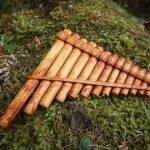 flute de pan flute en bambou instrument musique bizarre