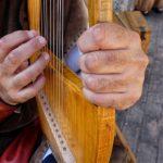 instrument original musique harpe lyre