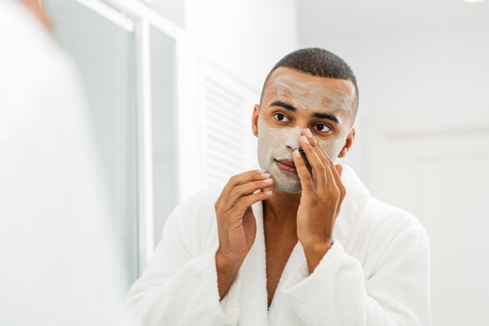 soin homme visage peau detente cocooning
