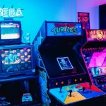 deco geek gaming adulte console jeu borne arcade retro