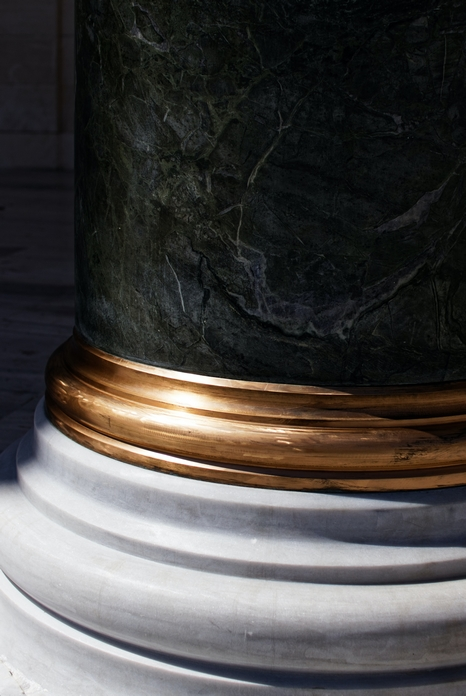 decoration or deco doree motif marbre