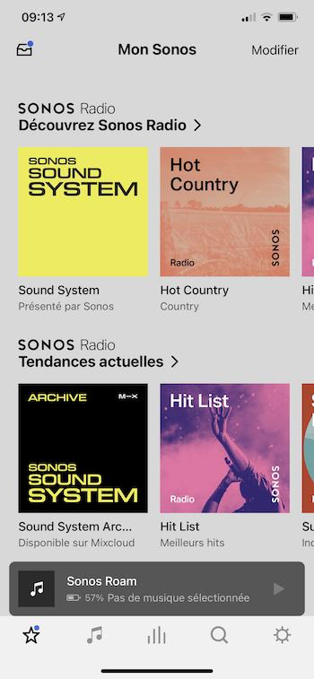 sonos application radio