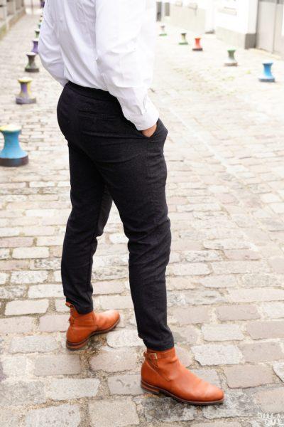 test avis adresse paris Pantalon chemise
