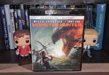 test 4k monster hunter bluray milla