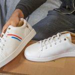 test avis baron papillon sneakers blanche