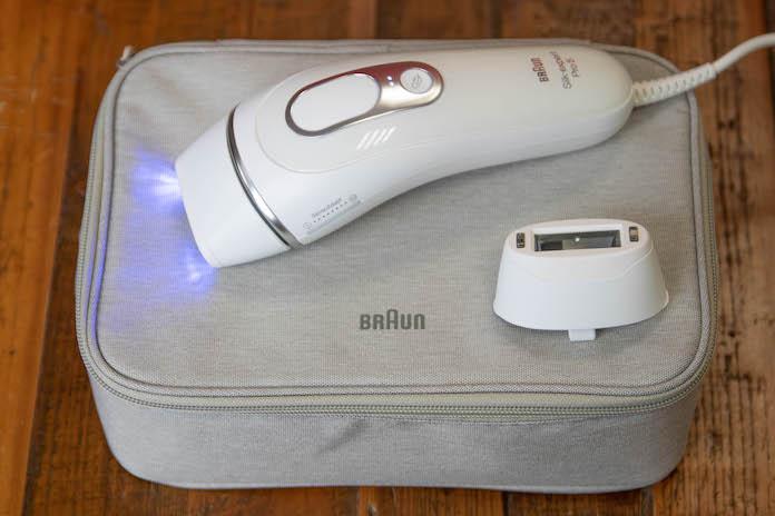 test avis braun silk expert pro 5 homme lumiere pulsee emballage