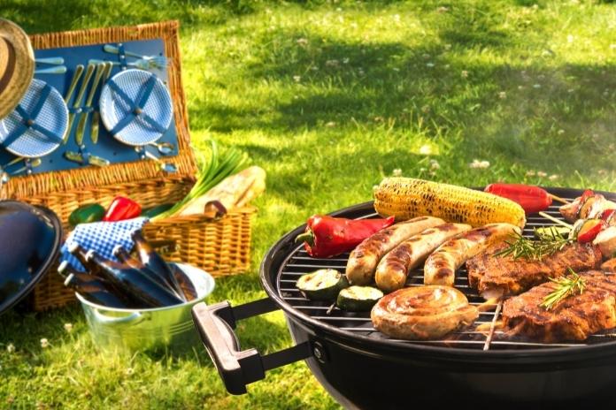 accessoires pic nique picnic panier sac couverts