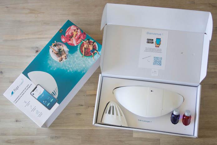 test avis flipr start max piscine boite