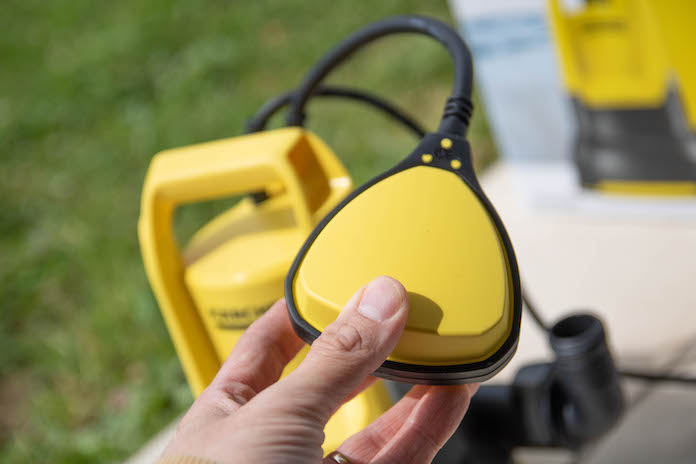 test avis pompe karcher SP2 flat evacuation flotteur