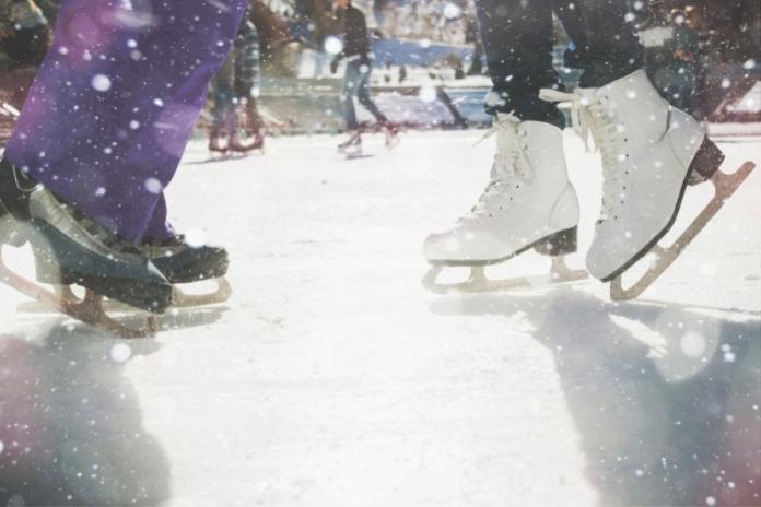 idee rendez vous patinoire date original marquant