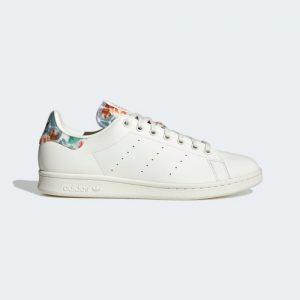 chaussure homme ete basket stan smith design floral