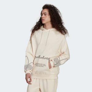 pull adidas unisexe beige creme blanc casse mode 2021