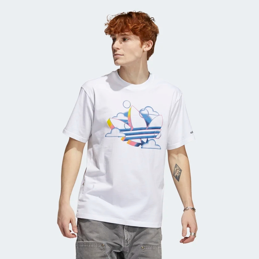 t shirt mode homme adidas colore fun