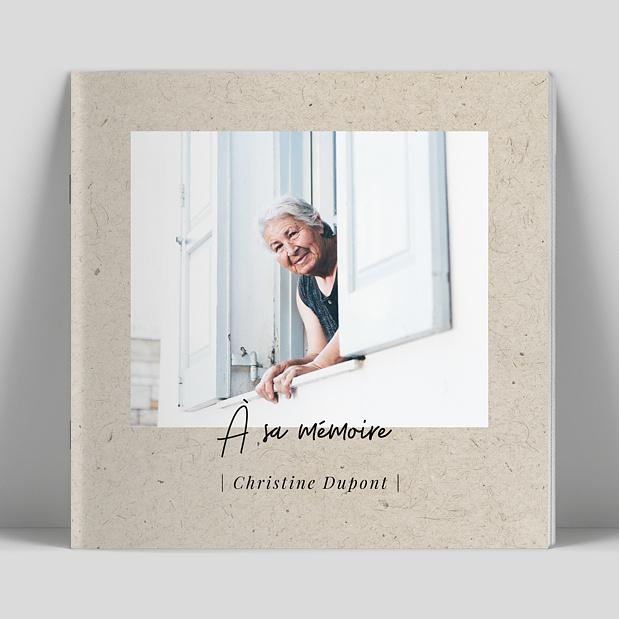 album photo à sa mémoire
