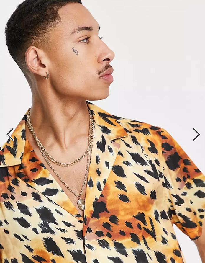 Mode homme tendance chemise oversize