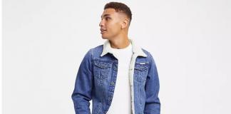 Mode homme veste en jean tendance