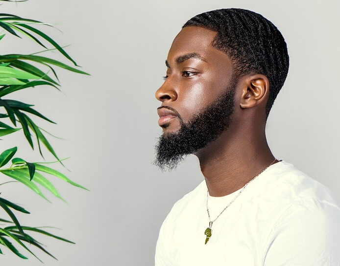 peau noire homme hydrater