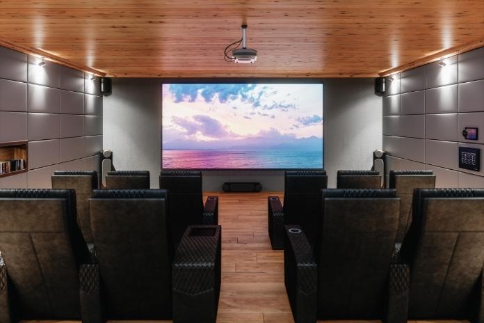 ecran home cinema retroprojecteur tele 4K